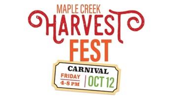 Carnival logo for Harvest Fest