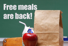 free meals ad